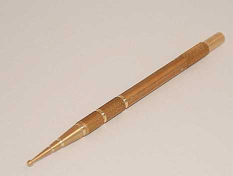 Masážní tužka - mosaz